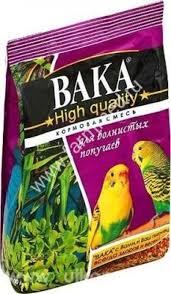 <b>Вака High Quality корм</b> для волнистых попугаев 500г купить в ...