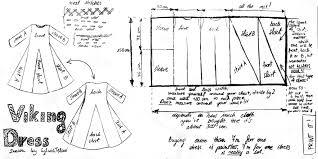 Viking Dress Pattern