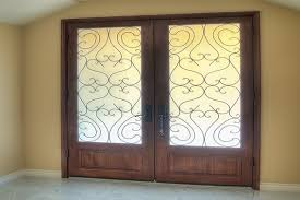 open arched double doors. IRON Open Arched Double Doors