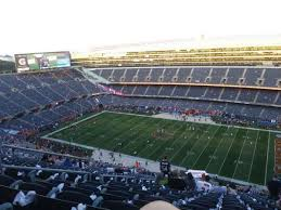 Soldier Field Chicago Bears Seating Chart Soldier Field Section 433 Home Of Chicago Bears