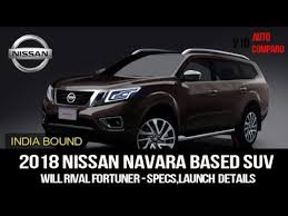 2018 nissan ute. brilliant ute 2018 nissan navara based suv to debut later this year u0026 will rival likes of  fortuner on nissan ute r