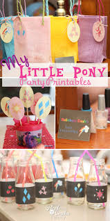 Small Picture My Little Pony Birthday Party Printables