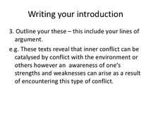 conflict essay outline example of reaction paper custom conflict essay outline