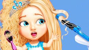 sweet baby beauty salon 3 fun hair nails makeup makeover kids games