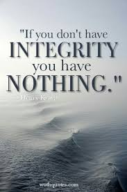 Quotes About Integrity Beauteous Integrity Quotes And Sayings WothQuotes WOTHQUOTES COLLECTION