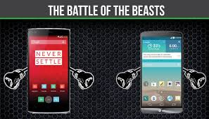 one plus one size oneplus one vs lg g3 the battle of the beasts