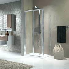 folding glass shower doors shower doors bi fold glass door zoom tri fold sliding shower door
