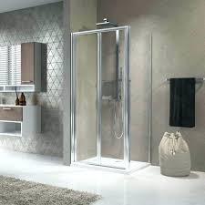 folding glass shower doors shower doors bi fold glass door zoom tri fold sliding shower door