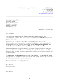 Example Of Good Cover Letter For Resume Images - Cover Letter Ideas