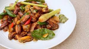 Ilustrasi resep kerang dara saos padang/cookpad. 3 Ide Masakan Hari Ini Resep Masakan Kerang Menggoda Selera