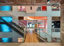 office space memorabilia. 2 Of 9; Coca-Cola UK Headquarters By MoreySmith Office Space Memorabilia H