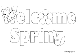 Coloring Pages Springtime Spring Butterflies Color Bros For Graders