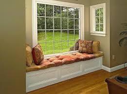 ... Simple window seat design ...