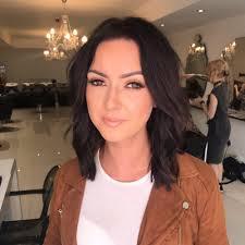 photo of ladylux hair salon edinburgh midlothian united kingdom make up application