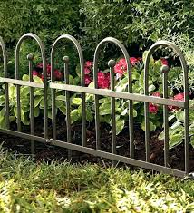 decorative metal garden fencing outdoor edging ornamental decorative metal garden fencing fence gate