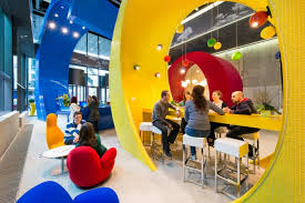 google office environment. Google Offices And Employees Collaborating Office Environment  