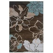 turquoise and brown area rug clay alder home brown turquoise fl area rug 5 turquoise brown turquoise and brown area rug