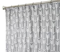 extra long shower curtain fabric shower curtains bathroom curtains arrow gray shower curtain 84