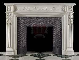 Marble French fireplace Mantel | Marvelous Marble Design