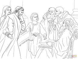 Small Picture Boy Jesus in the Temple coloring page Free Printable Coloring Pages