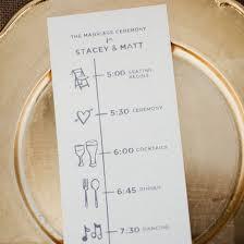 Fun Wedding Programs Wedding Program Gallery Weddinggawker