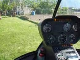 Predecollo decollo elicottero r 44