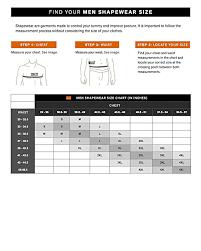 Roc Bodywear Size Chart Amazon Com Leo Mens Tummy Control Firm Compression Tank