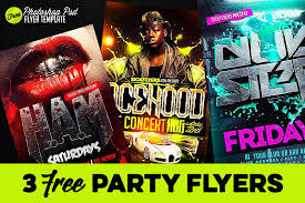 Free Party Flyer Templates 3 Free Party Flyer Templates Dealjumbo Com Discounted