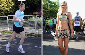 Kate lawler has promised to run the london marathon in her underwear if she raises £20,000. London Marathon 2009