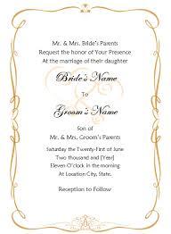 Reception Invitation Templates Trends Wedding Invitation Templates