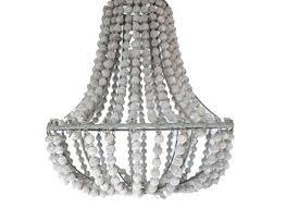 wood bead chandelier diy white wooden bead chandelier home design ideas wooden bead chandelier diy