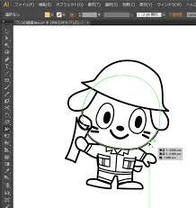 Illustratorでキャラクターに色を塗る方法 アトリエwebの森