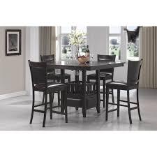 Square Pedestal Kitchen Table Greenwood Counter Height Dining Table Square Wood Kitchen Table