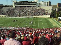 Vanderbilt Seating Chart Vanderbilt Stadium Section U Row 55 Seat 15 16 Home Of