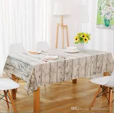 wood grain tablecloth cotton linen rectangle table cloth for table retro cover table linen customizable purple tablecloths 60 inch round tablecloths from