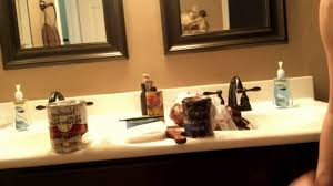 bathroom cabinet remodel. Do It Yourself Bathroom Cabinet Stain Remodel Step-by-step