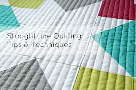 Canoe Ridge Creations: Straight-line Quilting | Tips + Techniques & Straight-line Quilting | Tips + Techniques Adamdwight.com