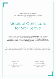 Self Certification Sick Note Template Elegant Sick Certificate