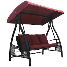 metal outdoor swings with canopy doherty house fort and