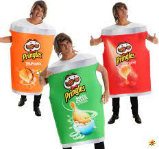 Unisex Original Pringles Kostüm Chips Spaßkostüm
