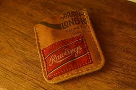 mack provisions vintage baseball glove minimalist wallet review 70