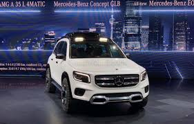 От 3 090 000 ₽. Mercedes Concept Glb Is A Close To Production Rugged Luxury Suv