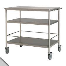 Amazoncom Ikea Flytta Kitchen Cart Stainless Steel H38