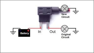 how to add a circuit to your car 8 steps (with pictures) how to wire a car fuse box at How To Add A Fuse To A Car Fuse Box