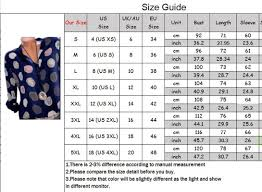 Wish Size Chart Qoo10 Sg Sg No 1 Shopping Destination