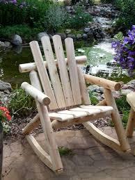 log rocking chair cedar rocker cedar creek furniture