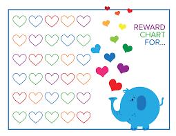 Free Printable Reward Charts Free Printable Reward Chart For Kids Best Loving Printable