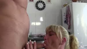 XXX Omas Dirty mature German brunette Bonny Devil gets her twat.