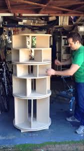 rotating shoe rack demo