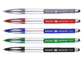 """<b>Ручка шариковая</b>, <b>автоматическая</b> 3 в 1 """"<b>Universal</b>"""", 0,7 мм, синяя ..."""